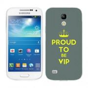 Husa Samsung Galaxy S4 Mini i9190 i9195 Silicon Gel Tpu Model Vip