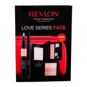 Revlon Photoready Prime + Anti Shine confezione regalo base trucco 14,2 g + illuminante 7,5 g 020 Rose Glow + correttore illuminante 2,4 ml + blush 5 g 008 Racy Rose + matita occhi 0,28 g Black + trousse donna
