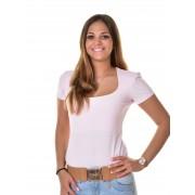 Mayo Chix női rövid ujjú body SYBILL m2018-1Sybill/rozsaszin