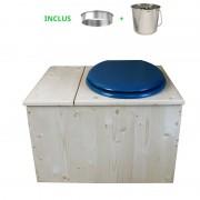 Toilette sèche - La Bac Bleu nuit inox