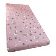 Lenjerie de pat din finet 5 piese 140x70 cm