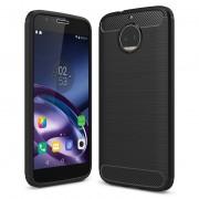 Husa MOTOROLA Moto G5S - Luxury Carbon TSS, Negru