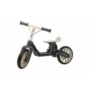 Bicicleta copii fara pedale ergonomica Polisport Bb gri crem 12 inch