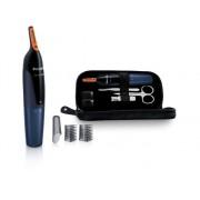 Philips Recortador de Precisión PHILIPS Set de manicura y recortador para nariz NT5180/15