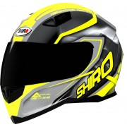 Shiro SH-881 Motegi Casco Amarillo XS (53/54)