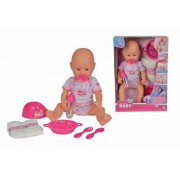 Papusa bebelus - New Born Baby cu accesorii