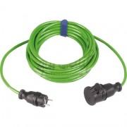 Verlengsnoer PUR kabel 3x1,5mm² 10m groen
