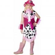 Smiffys Cowboy verkleedkleding voor meisjes 104-116 (3-5 jaar) - Carnavalsjurken