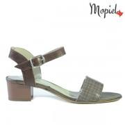 Sandale dama din piele naturala 25634/Maro/Ioana