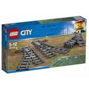 Lego Klocki konstrukcyjne LEGO City Zwrotnice 60238