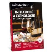 Wonderbox Coffret cadeau Initiation à l'nologie et cours de cuisine - Wonderbox