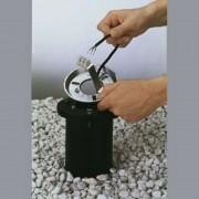 Recessed pillar light die-cast aluminium 40 cm