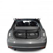 Car-Bags Audi A1 (2010-2018) 4-Delige Reistassenset zwart