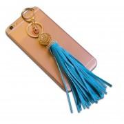 Llavero Colgante Jyx Accesorios Para Celular O Para Bolsa Charm Tassel - Azul Aqua