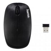 Мишка Hama AM-8000, безжична, оптична (1200 DPI), USB, черна