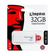 Memória USB Kingston Generation 4 Data Traveler - 32GB