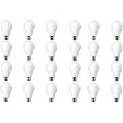 NIPSER 9 Watt LED Bulb Premium Quality Cool Day Light ( Pack of 24)