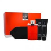 Dunhill Desire set cadou apa de toaleta 100 ml + gel de dus 90 ml + balsam after shave 90 ml + geanta cosmetica pentru bărbați