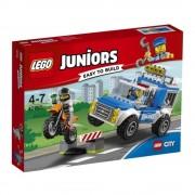 LEGO Juniors - City, Urmarire cu camionul de politie 10735