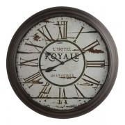 Oak Furnitureland Clocks - Royale Wall Clock - Oak Furnitureland
