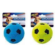Nerf Dog (2-Pack) Tire Glide Tug Dog Toy, Red/Green, Medium