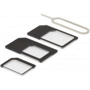 Deltaco SIM-kortsadapter från nano till micro/mini