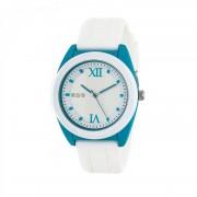 Crayo Praise Quartz Watch - White/Cerulean CRACR3601