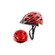 Capacete Ciclismo C/ Led - Vermelho - G - Atrio