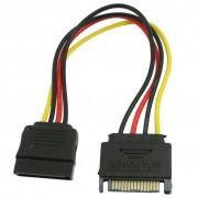 PROMOTIEPC SATA 15 Pin Man-vrouw HDD Power Kabel Converter Adapter