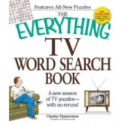 The Everything TV Word Search Book: A New Season of TV Puzzles - With No Reruns!, Paperback