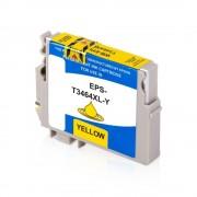Epson Cartouche d'encre pour Epson C13T34644010 / 34 jaune compatible (de marque ASC)