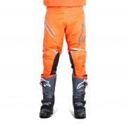 Alpinestars Racer Braap Crossbyxor Mörkgrå-Fluo Orange