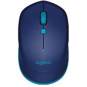 Logitech Mouse Ottico Compatto Blu USB Wireless , pulsanti 3, 910-004531