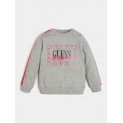 Guess Sweater Met Logo Op De Voorkant - licht grijs - Size: 4