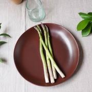 Maison Tilleul Assiette plate céramique (par 4) Fjord