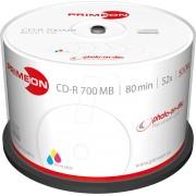 PRIM 2761105 - CD-R 80Min/700MB, 50-er Cakebox