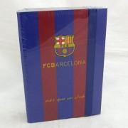 Barcelona füzetbox - A5 - kék-bordó