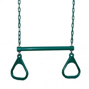 Swing-N-Slide Extra-Duty Ring Trapeze Combo, Green