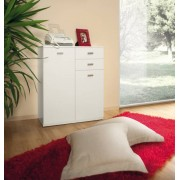 Arredo Interno Mobile multiuso 71 cm Bianco con anta e cassetti