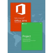 Office2016 Professional Plus + Project Professional 2016 CD Key Pack