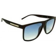 Mangal Brothers Rectangular Sunglasses(Blue)