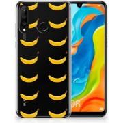 Huawei P30 Lite Uniek TPU Hoesje Banana