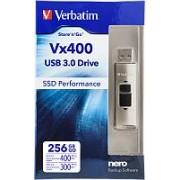 USB memorija 256 GB Verbatim Store'n'Go Vx400 USB 3.0