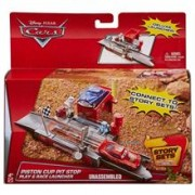 Set De Jucarii Disney Pixar Cars Piston Cup Pit Stop Play And Race Launcher