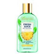 Bielenda Fresh Juice Ananas rozświetlający płyn micelarny z bioaktywną wodą cytrusową 100ml