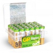 GP Batterier AA, GP Super Alkaline AA-batteri, 15A/LR06, 24-pack