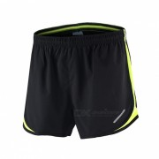 ARSUXEO Sport Marathon Running Pantalones cortos para hombre - Verde (L)