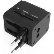 Incarcator retea Avantree CGTR-851-BLK, 2x USB, Universal EU/UK/SUA, 2.1A (Negru)