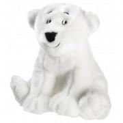 Merkloos Pluche Lars de kleine ijsbeer/beren knuffel 25 cm speelgoed