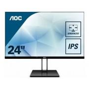 AOC Monitor AOC 24V2Q (24'' - Full HD - IPS - Free Sync)
